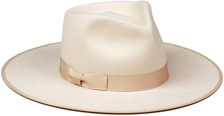 Lack of Color Women's Ivory Rancher Hat (Ivory, Small ...