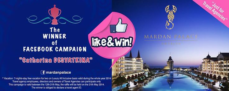 "Thanks for All Participants... CONGRATULATIONS ! The Winner is ""CATHARINA DESYATKINA"""