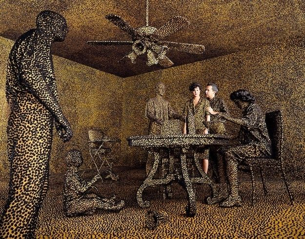 Best Sandy Skoglund Images On Pinterest Installation Art - Artist creates amazing fantasy dreamscapes into her small studio without using photoshop