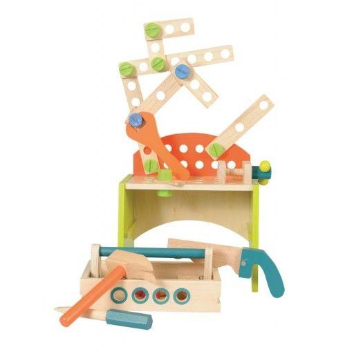 Engeltjes & Draken | Egmont toys | Werkbank #egmonttoys #werkbank #jongensspeelgoed #speelgoed #jongen