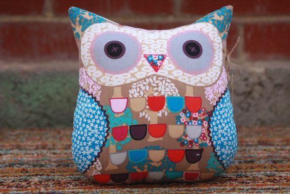 Cuddly Owl Cushion