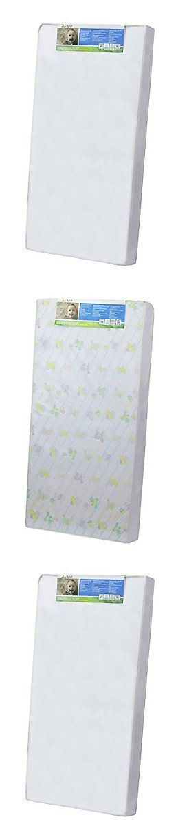 Baby Nursery: Dream On Me 4 Full Size Foam Crib And Toddler Bed Mattress BUY IT NOW ONLY: $52.47