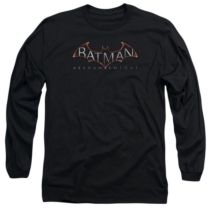 Arkham Knight Logo Adult L/S