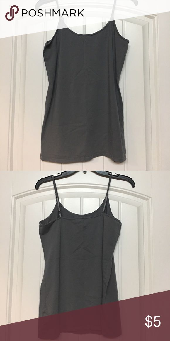 Old Navy maternity cami Worn once EUC!! Grey maternity cami with adjustable straps. Old Navy Tops Camisoles