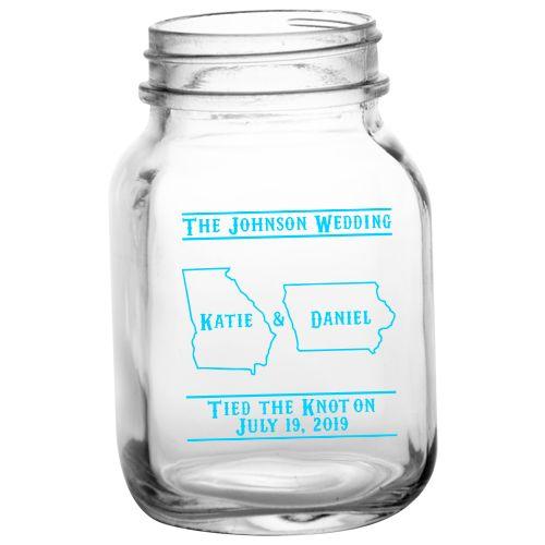 20oz BarConic® Mason Jar Mug with No Handle