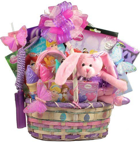 84 best gift baskets images on pinterest gift baskets a pretty little princess easter gift basket holiday adds negle Choice Image