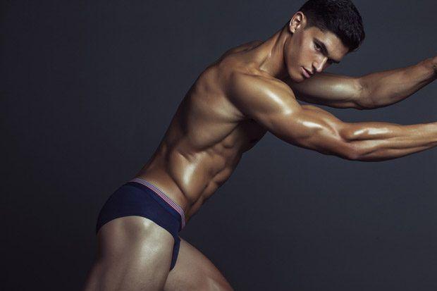 Under The Stars: Trevor Signorino Poses for Bench/Body