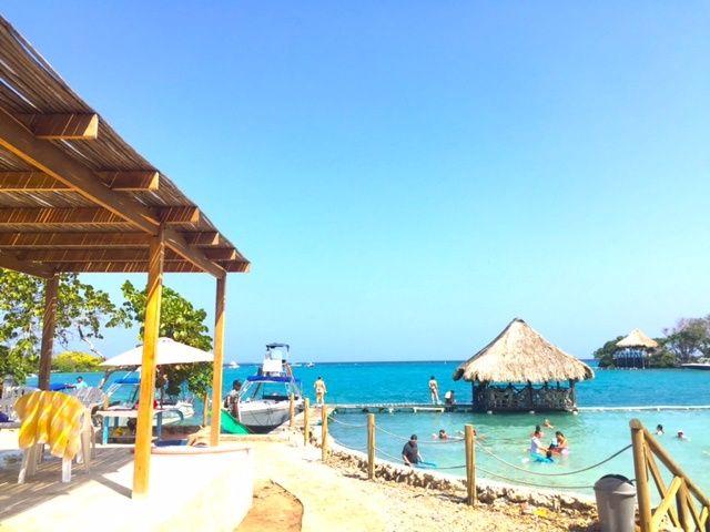 Isla del Sol: uma ilhota, em Cartagena. - Viagens da Mochilinha Gaúcha