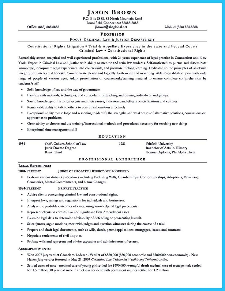 awesome best criminal justice resume collection from