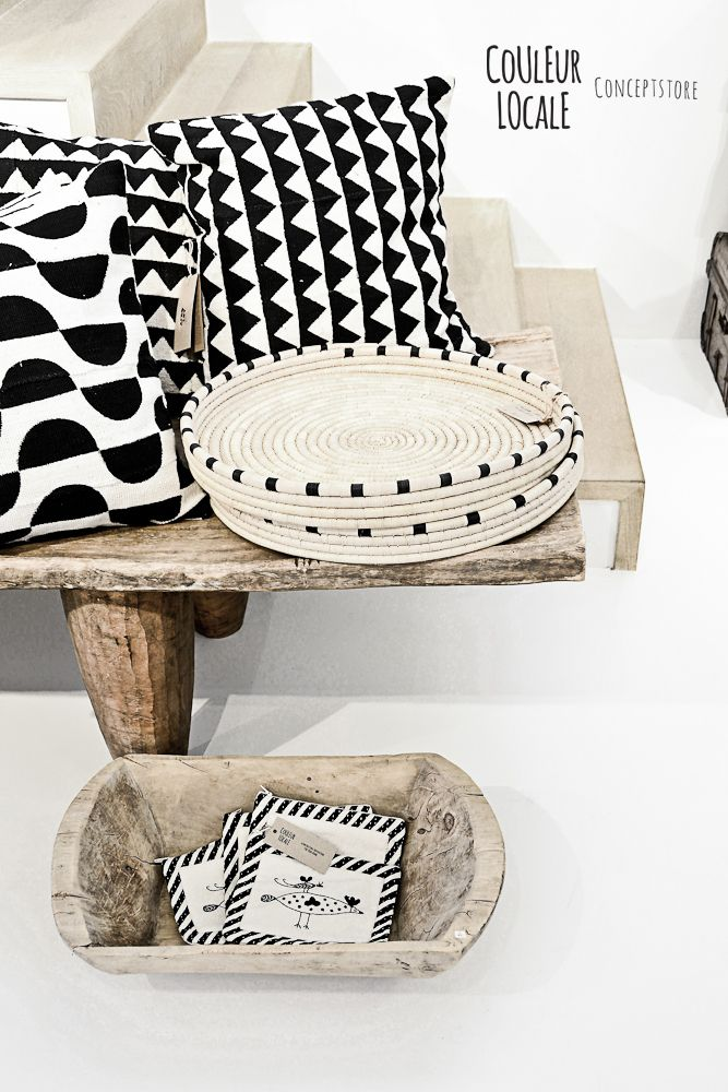 Baskets by Design Afrika - ilala palm trays | Styled for Belgian concept store…