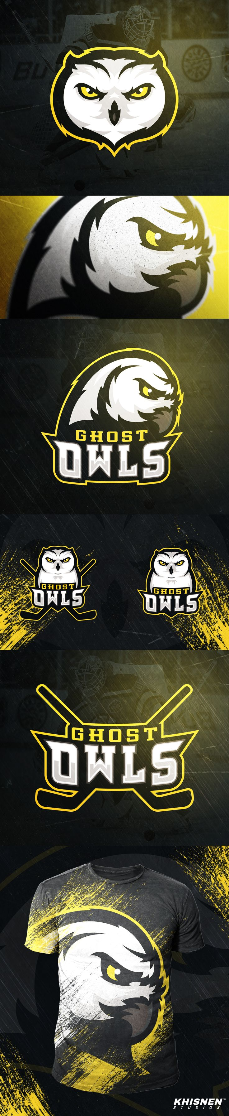 Ghost Owls on Behance
