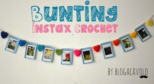 Bunting Instax Crochet