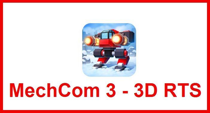 MechCom 3 – 3D RTS es un juego de estrategia donde usaremos unas especies de robots llamados mechs armados hasta los dientes, el objetivo es simple conquistar las bases enemigas y destruir a todos los enemigos, tendremos que ir mejorando nuestros mechs para hacerlos mas resistentes y poderosos, un juego de guerra táctica moderna donde la estrategia es la clave para ganar la guerra y conseguir todas las zonas enemigas.