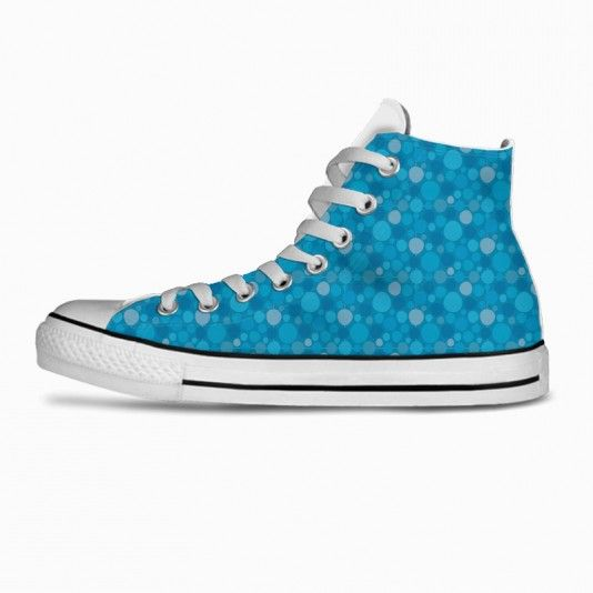 Blue Dots art | fashion | clothing | inspiration | contemporary | trendy | ideas | gifts | shoes