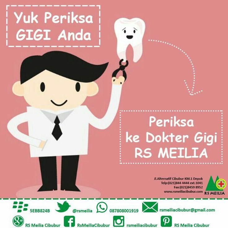 Periksa #kesehatan #gigi #mulut #layanan #sehat #dokter #rsmeilia #cibubur #depok #cileungsi #bekasi #bogor #jakarta #tangerang #indonesia