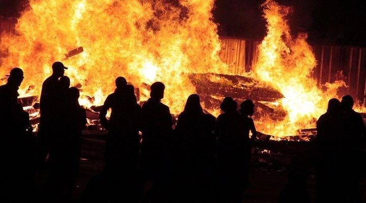fire barricade