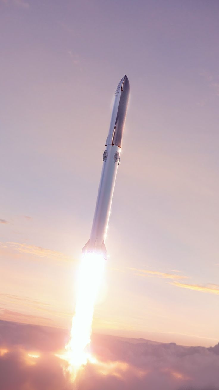 Wallpaper Of Spacex New Starship Super Heavy Launch Spacex Spacex Starship Spacex Rocket