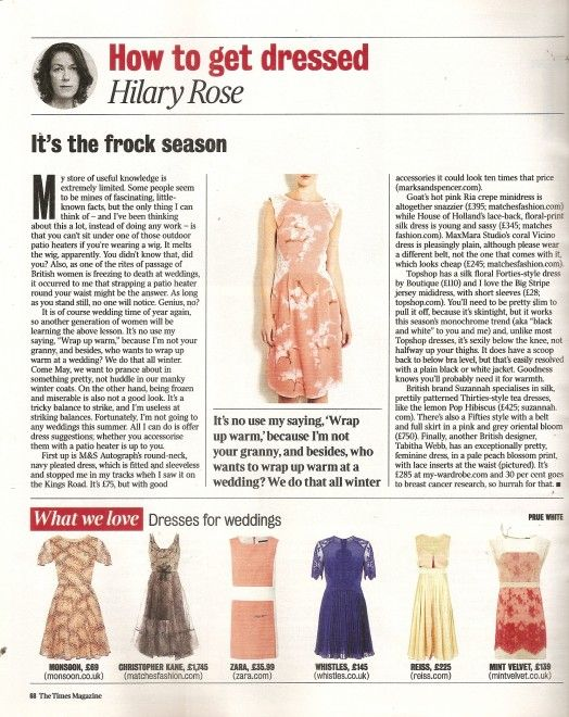 The Times magazine coverage