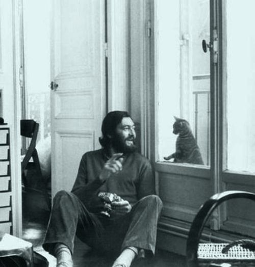 """I sometimes longed for someone who, like me, had not adjusted perfectly with his age, and such a person was hard to find; but I soon discovered cats, in which I could imagine a condition like mine, and books, where I found it quite often."" — Julio Cortázar, Around the Day in Eighty Worlds"