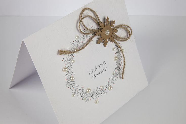 Rustikální+Vánoce+Ručně+vyrobené+blahopřání.+Rozměr+přibližně+13,5+x+13,5+cm.+Obálka+v+barvě+podkladu+v+ceně.+