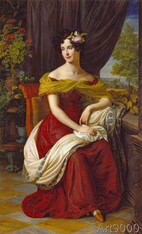 Friedrich Wilhelm von Schadow - Bildnis der Fanny Ebers