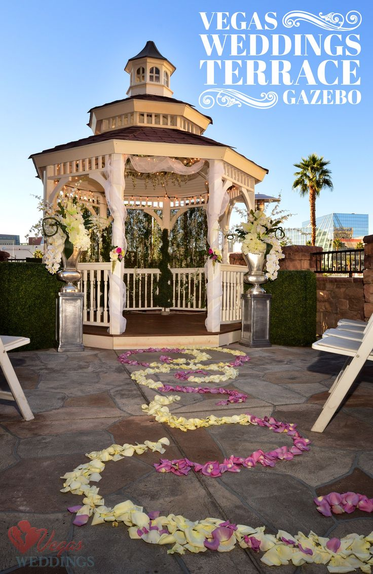 Our most popular location any time of day this adorable for 702 weddings terrace