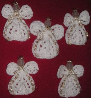 Knitting Galore: Angel Tree Ornament