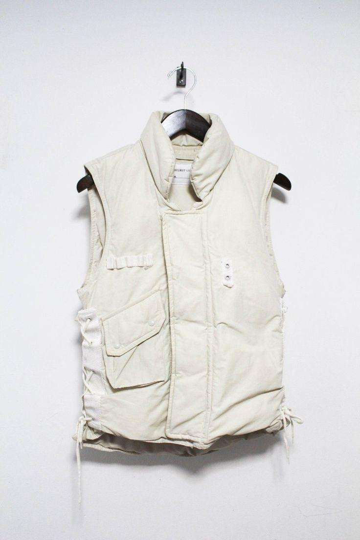 Helmut Lang FW 1999 Vintage Archive Goosedown Military Vest Jacket   eBay