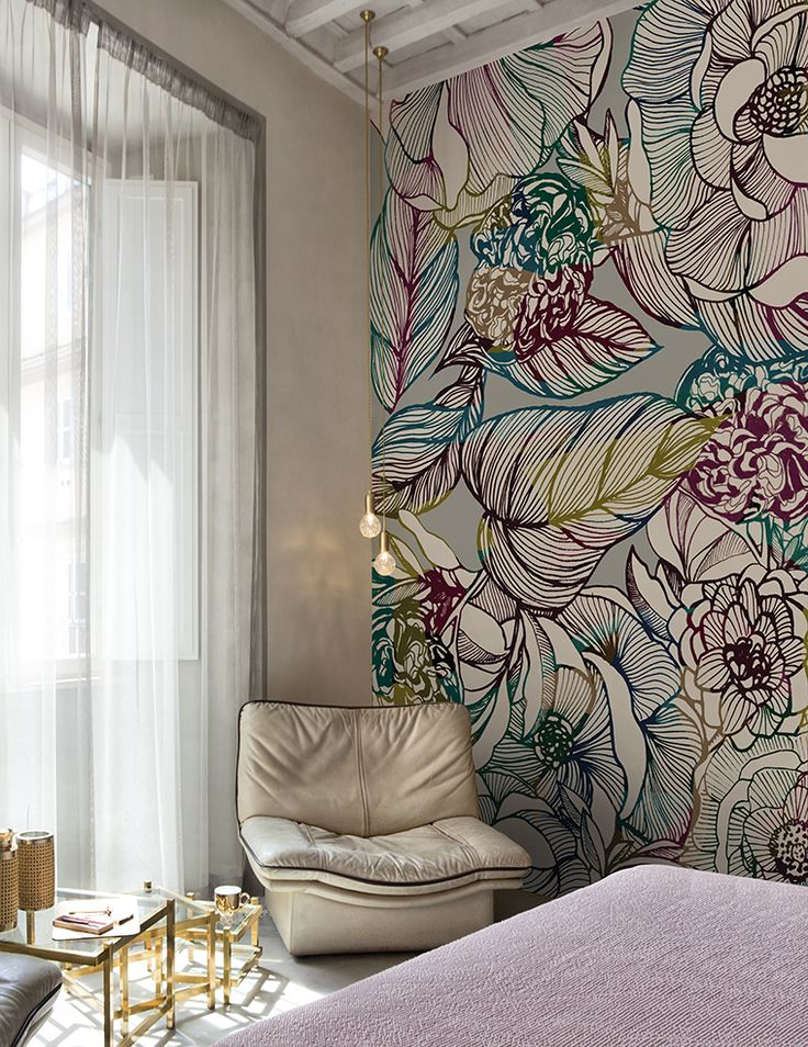 Sinfonia www.wallanddeco.com #wallpaper, #wallcovering, #cartedaparati