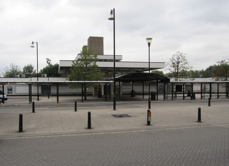 Harlow Town Railway Station, Harlow New Town, Essex.