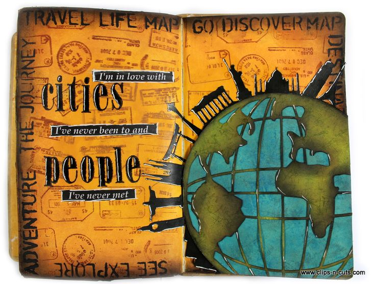 art journal travel