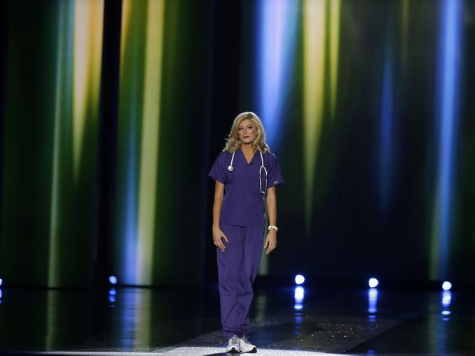 """The competitor who """"broke"""" the tradition of Miss America"""