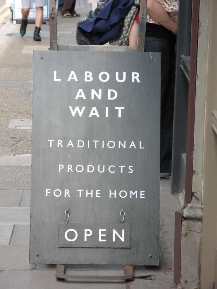 Labour and Wait from http://LondonTown.com