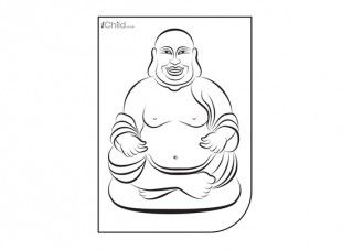 This Buddha colouring in picture is a great resource for the children to use, whilst learning about the religious festivals, Asalha Puja and Vesak.