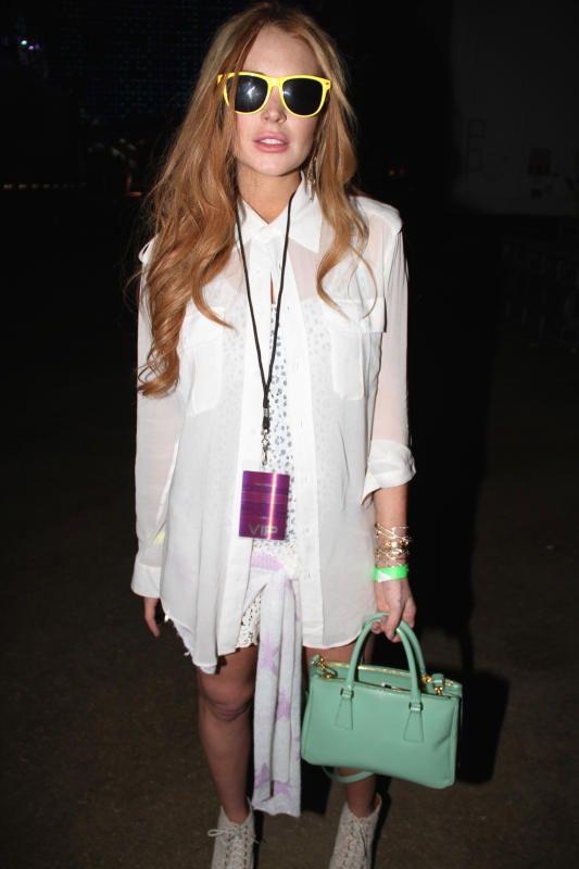 Lindsay Lohan Coachella 2012 - Best and worst of Coachella fashion