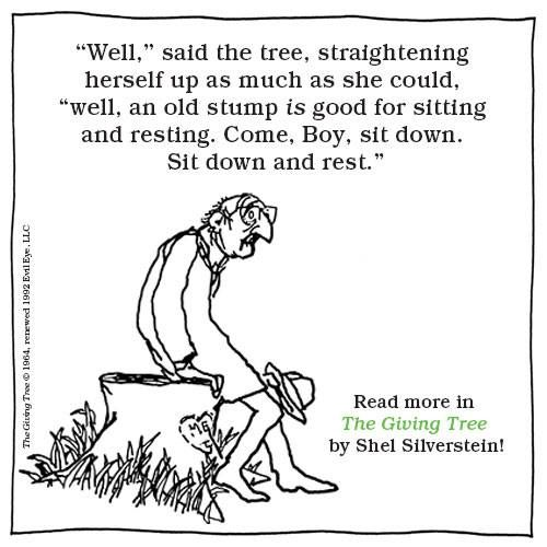 Years ago, an amazing teacher introduced me to Shel Silverstein. I will love her for it for the rest of my life!