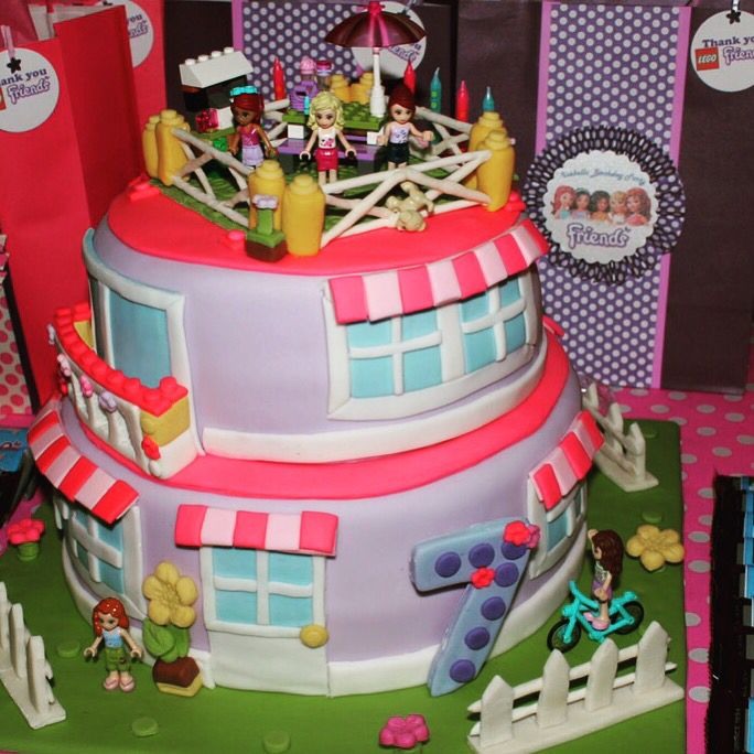 Decorating Ideas > Lego Friends Cake By Ranzacake @ranzacake Katy, TX  ~ 095229_Birthday Party Ideas Katy Tx