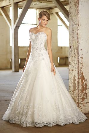 Wedding Gown Silhouettes - A Line -essense of australia style d1369