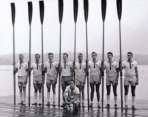 fashioned rowing machine