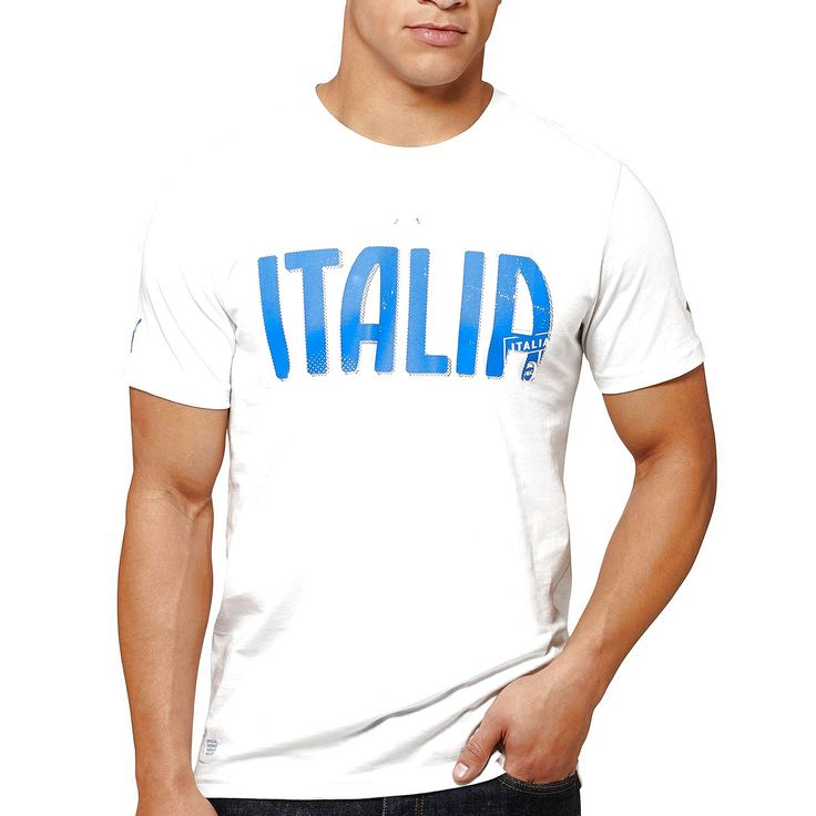 Puma Italy Team Name Graphic T-Shirt - White - $23.99