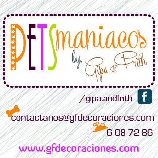 Pets Maniacos una linea creada por Gipa & Frith para los que ven a su mascota como parte de su familia. En Bogotá tel. 3176746222 - 6087286 contactanos@gfdecoraciones.com