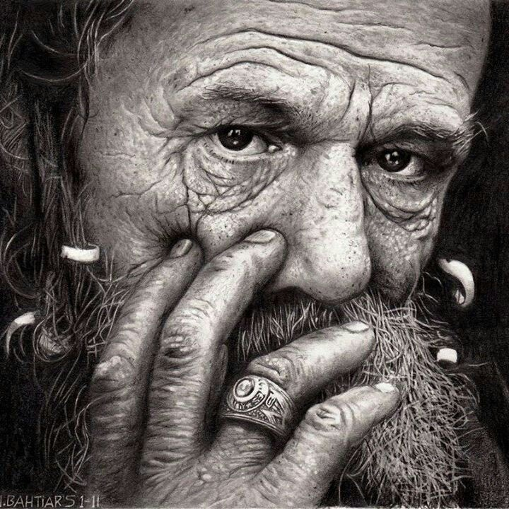 highly detailed face drawing awesome photo realistic
