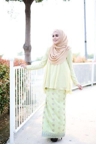 Zara Songket Spring Green | MINIMALACE