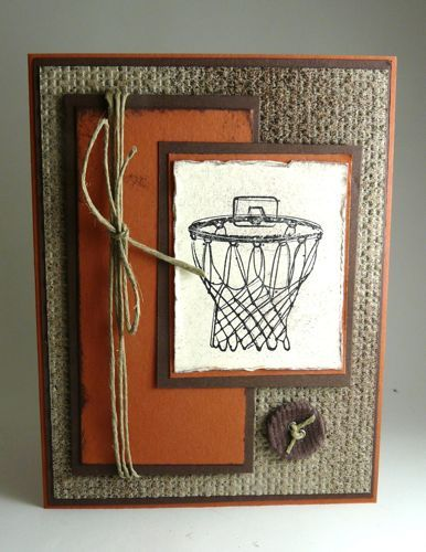 I stamped that: Stampin Up  Could substitute any logo...like cub scouts, karatee, book club, baseball, soccer