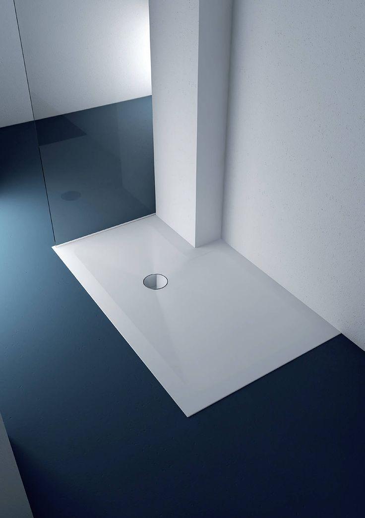 New bathroom collection using HI-MACS®, by Ponte Giulio.