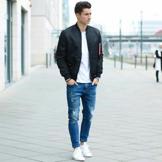 adidas stan smith hombre outfit