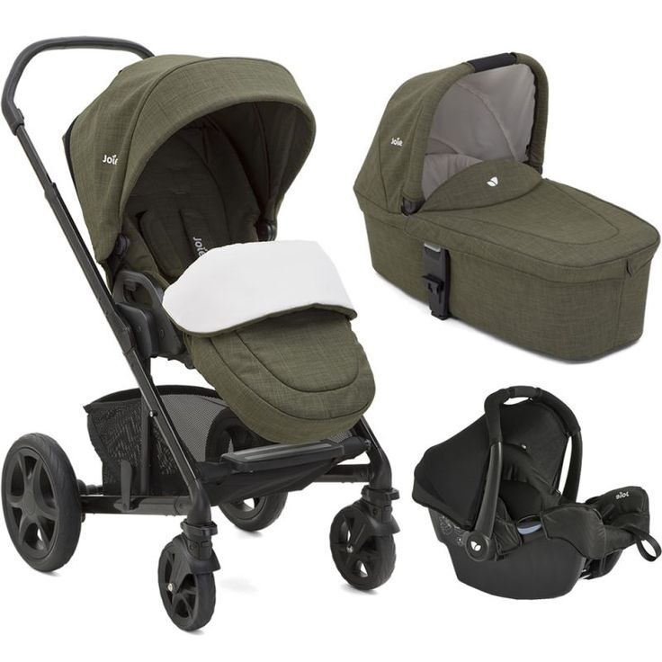 Joie Chrome DLX 3in1 Gemm Travel System-Thyme (New)