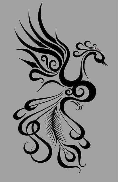 Phoenix_tattoo_by_Segundus by ba_tuoc_co_don2003, via Flickr