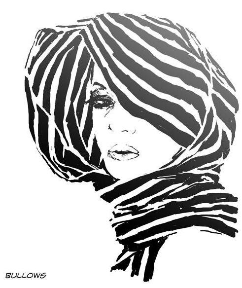 Wacom Tablet fun  #comic #illustration #digital #vector #photoshop #wacom #adobe #fashion