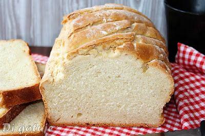 Di gotuje: Prosty chleb pszenny na drożdżach (z długą świeżoś...
